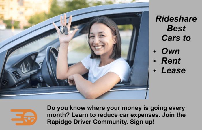 Rapidgo Driver Best Rideshare Car