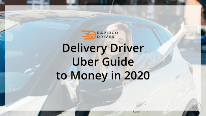 Delivery Driver Uber Guide to Money