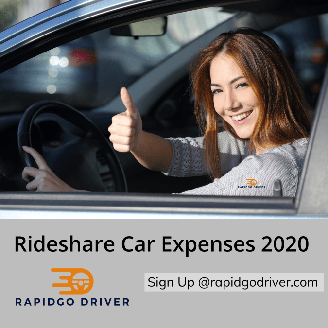 Delivery Driver Uber Expenses