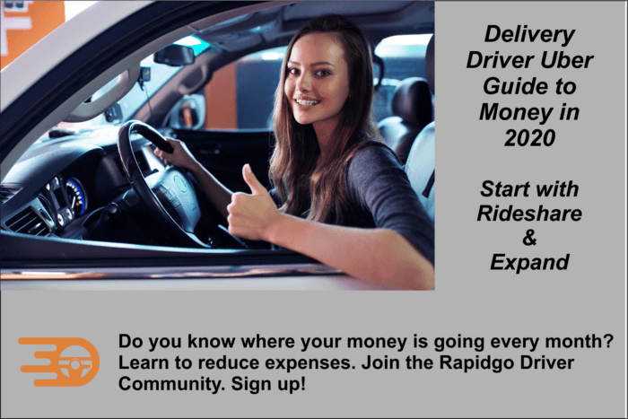 Rapidgo Driver Start with Rideshare and Expand