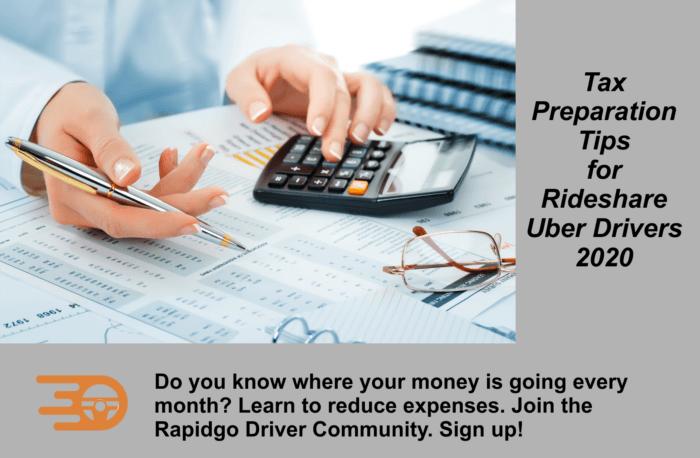 Rapidgo Driver Tax Tips
