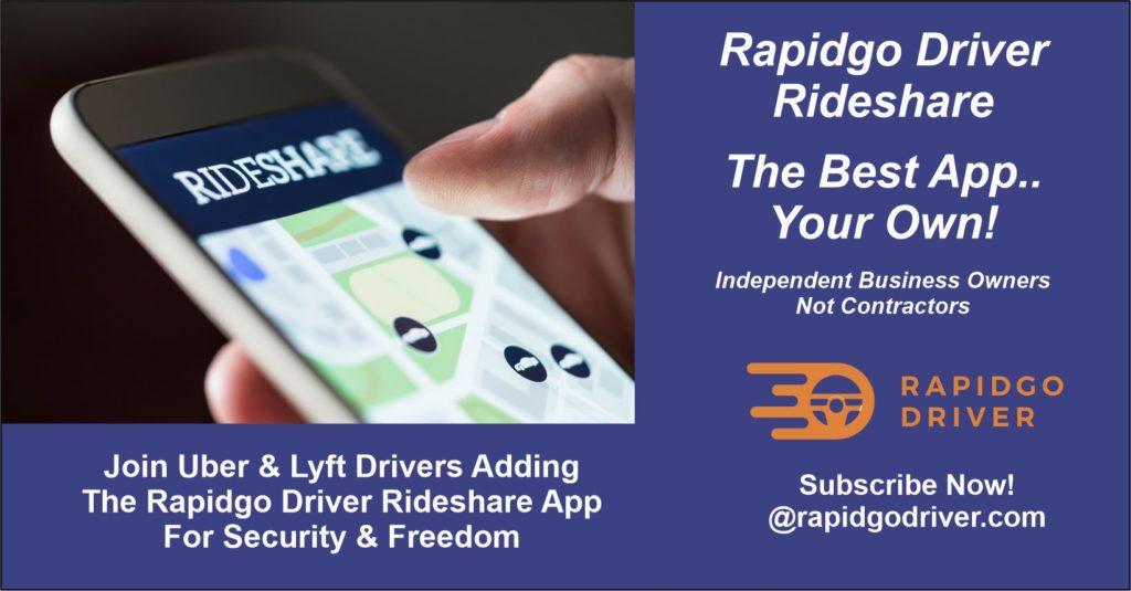 Posting describing Rapidgo Driver App